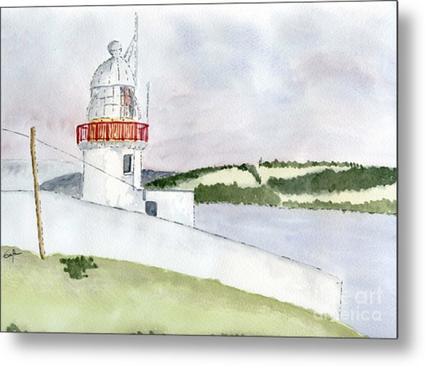 Youghal Lighthouse Metal Print