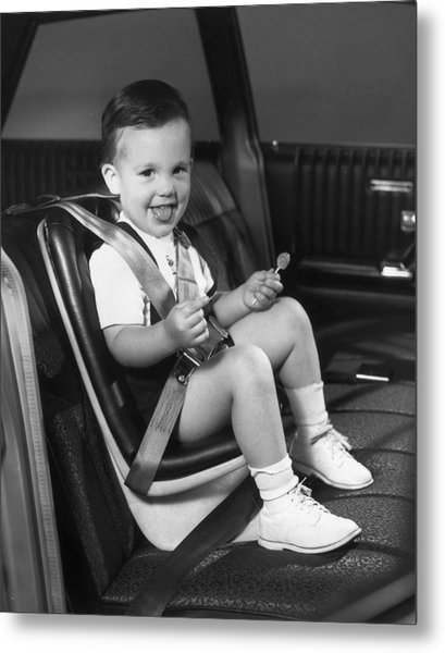 Young Passenger Metal Print by Archive Photos
