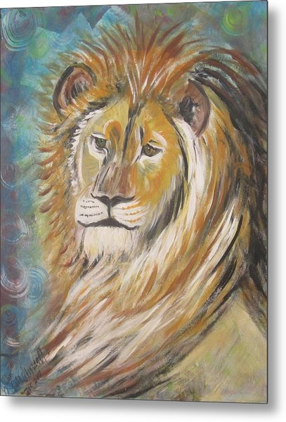 Your Majesty Metal Print by Julia Rita Theriault