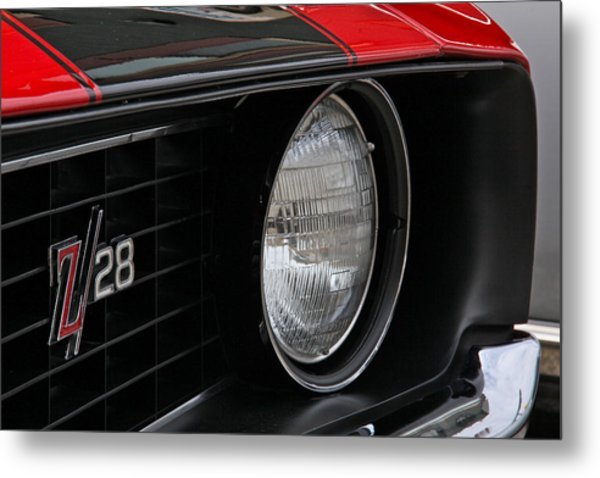 Z28 Metal Print by Chuck Zacharias
