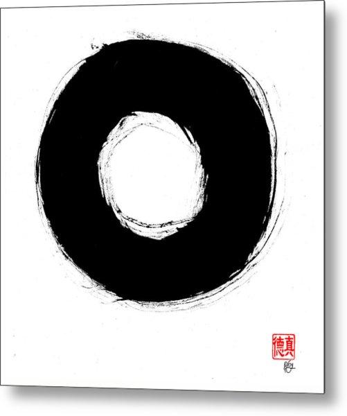 Zen Circle Seven Metal Print