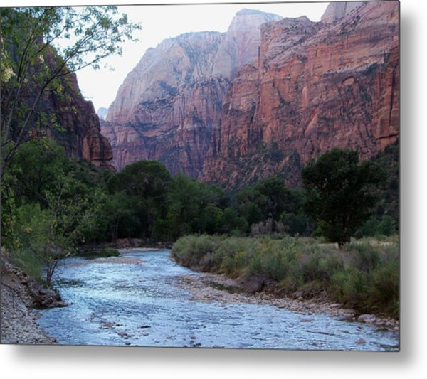 Zion National Park Metal Print by Julie Bell