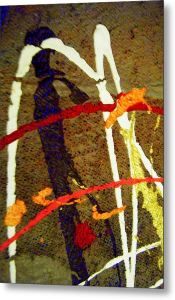 Autumn Joy Metal Print by Mildred Ann Utroska        Mauk