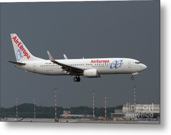 Aireuropa - Boeing 737-800 - Ec-jbk  Metal Print