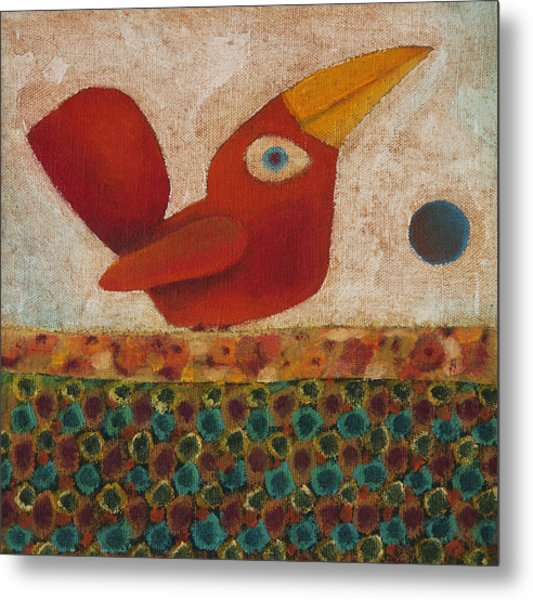 Barba Ruiva - Red Beard Metal Print by Rogerio Dias