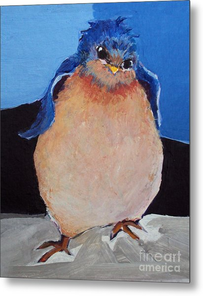 Bird With An Attitude Metal Print