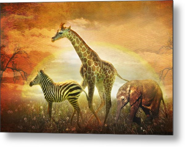 Children Of The Sun Metal Print