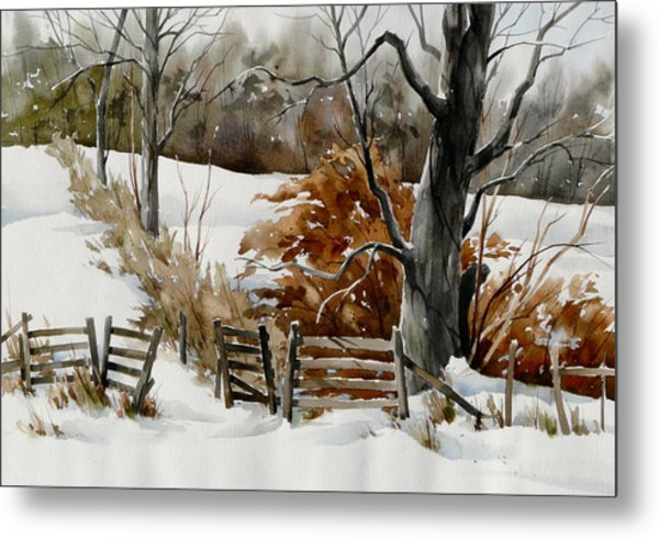 Cold Gate Metal Print by Art Scholz