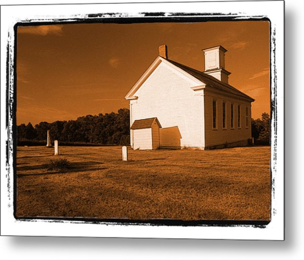 Country Church Metal Print by Craig Perry-Ollila