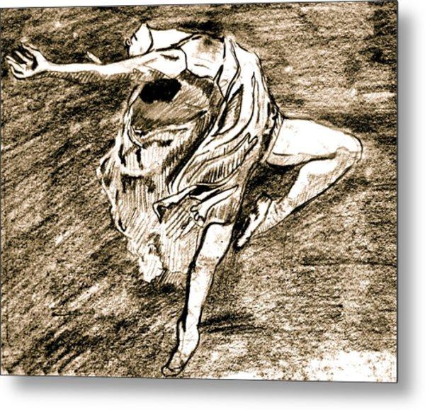 Dancer Metal Print by Dan Earle