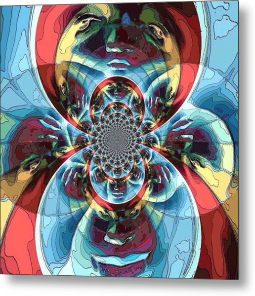 Different Perspectives  Metal Print