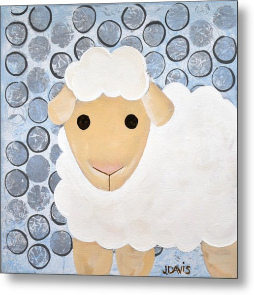 The Blessing Of The Lamb Metal Print