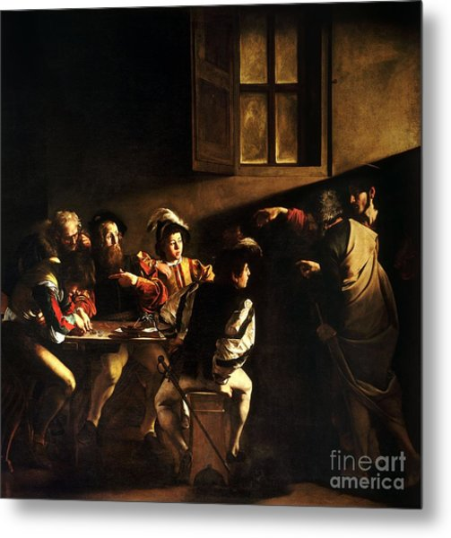 The Calling Of Saint Matthew Metal Print
