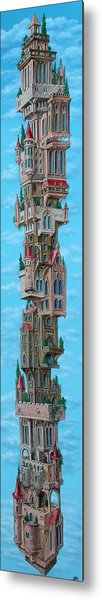 The Castle Of Air Metal Print