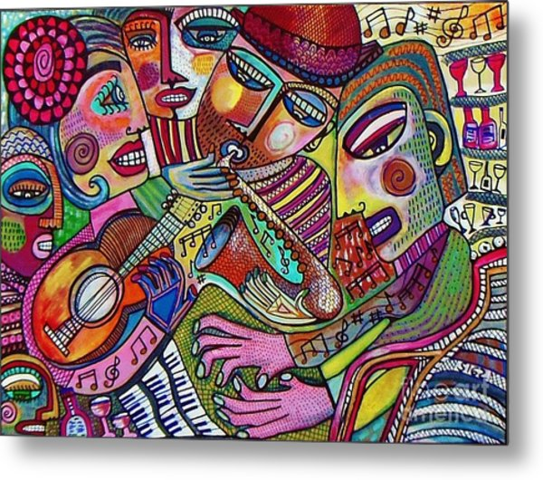 -the Music Of Friendship  Metal Print