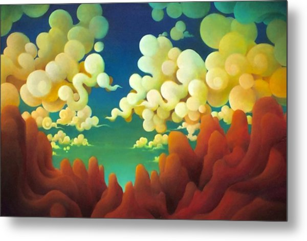 The Sky There Before Us Metal Print