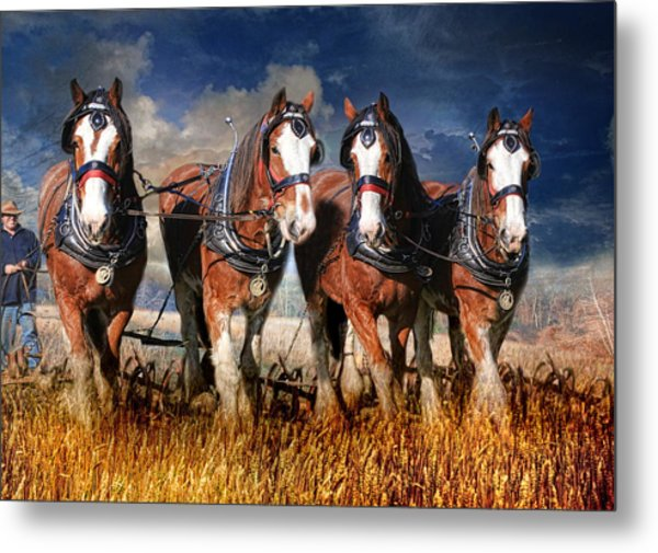 The Team Metal Print