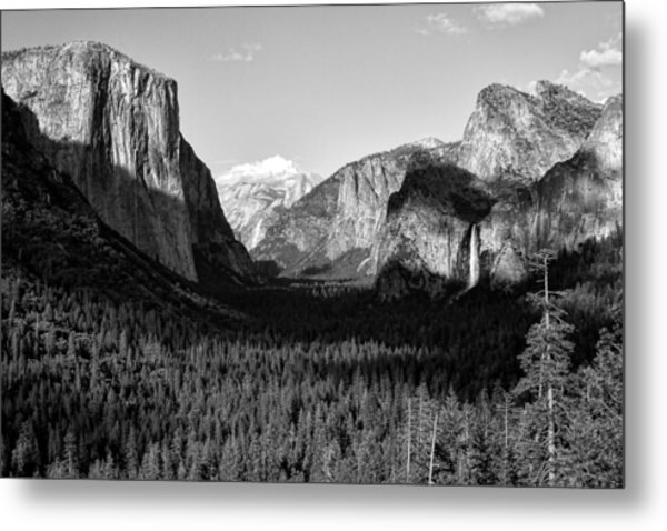 Valley Of Inspiration Metal Print