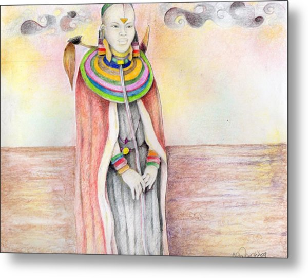 002 Metal Print by Candace Williams
