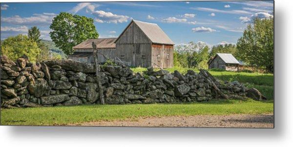 #0079 - Robert's Barn, New Hampshire Metal Print