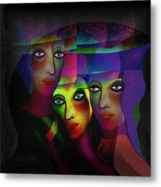008   Sisters In Pride A Metal Print