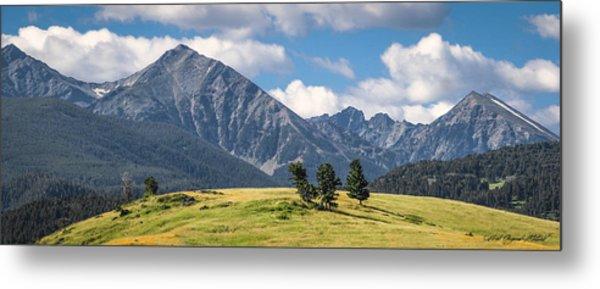 #0491 - Spanish Peaks, Southwest Montana Metal Print