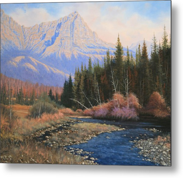 091022-2024  Into The Back Country Metal Print by Kenneth Shanika