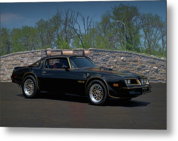 Metal Print featuring the photograph 1978 Pontiac Trans Am by Tim McCullough