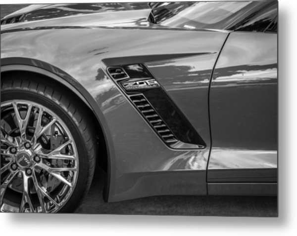 2015 Chevrolet Corvette Z06 Painted  Metal Print
