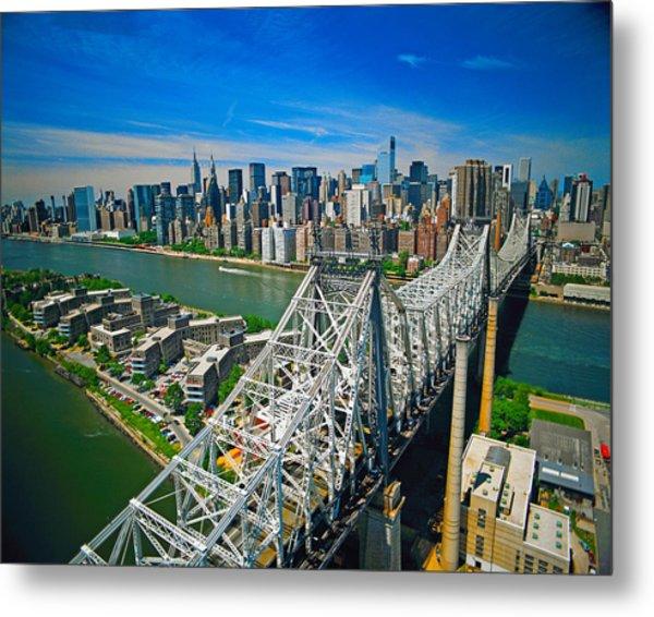 59th Street Bridge Metal Print