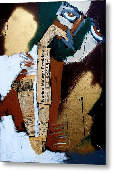 A Blues For Camelot Metal Print by Harold Smith