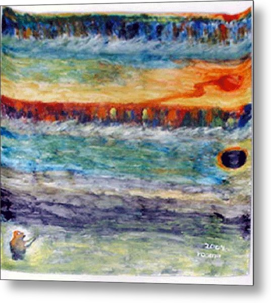 A New Dawn..  Metal Print by Rooma Mehra
