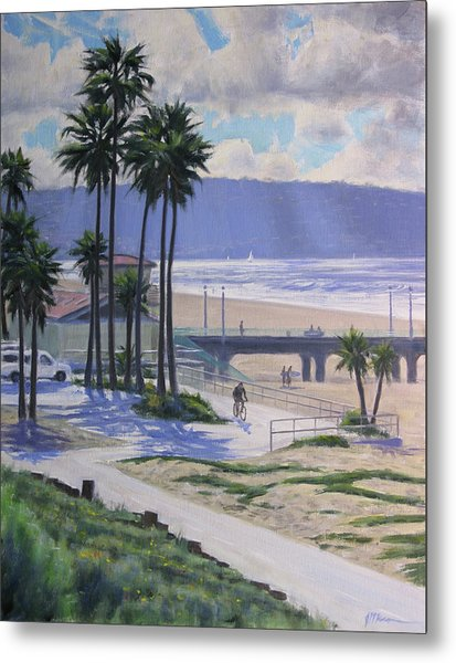 A View From The Strand Metal Print
