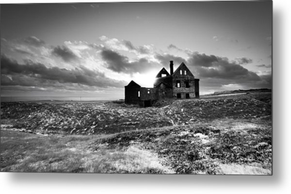 Abandoned Farm On The Snaefellsnes Peninsula Metal Print