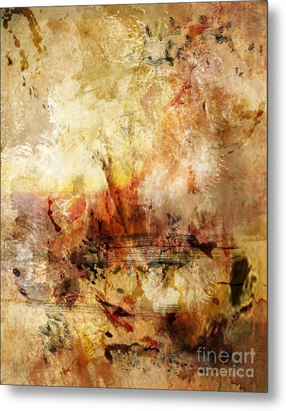 Abstract 132 Metal Print by Angelina Cornidez