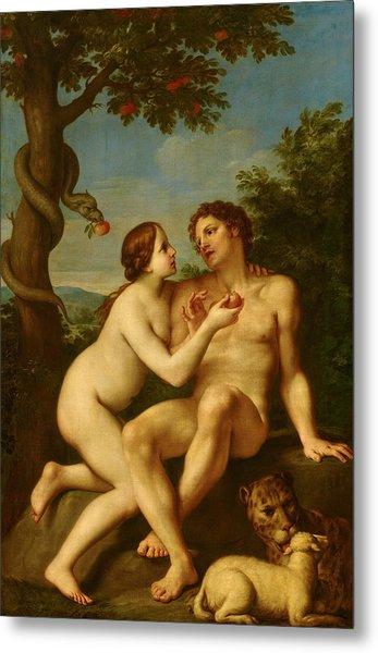 Adam And Eve Metal Print