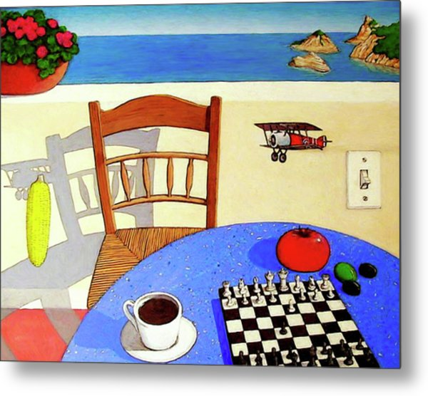 Afternoon Distractions Metal Print