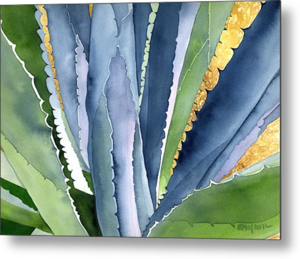 Agave 2 Metal Print by Eunice Olson