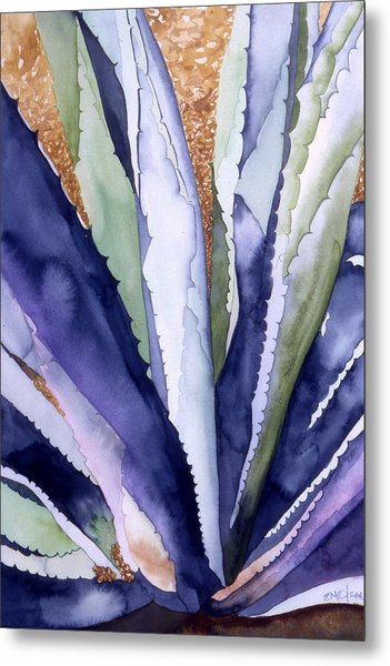 Agave 3 Metal Print by Eunice Olson