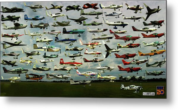Airventure Cup Air Race, 2017 - Panorama Metal Print