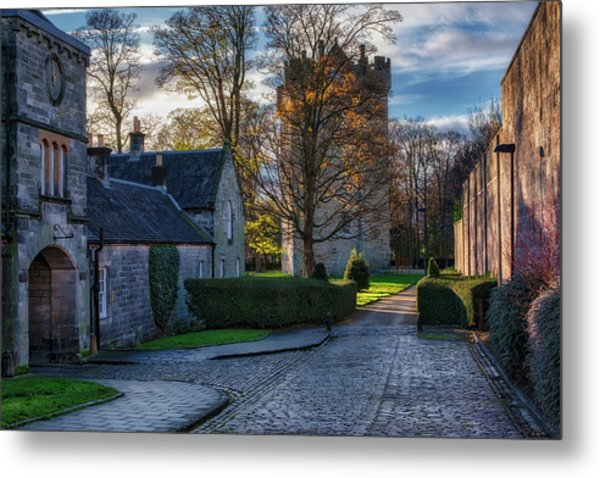 Metal Print featuring the photograph Alloa Tower by Jeremy Lavender Photography