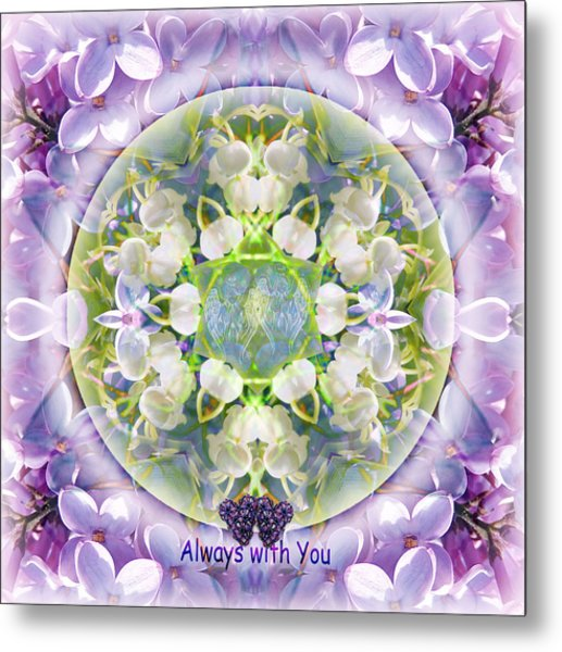 Always With You-2 Metal Print