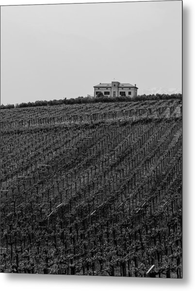 An Italian Farm In Abruzzo Metal Print