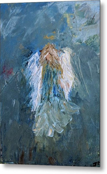 Angel Girl Metal Print