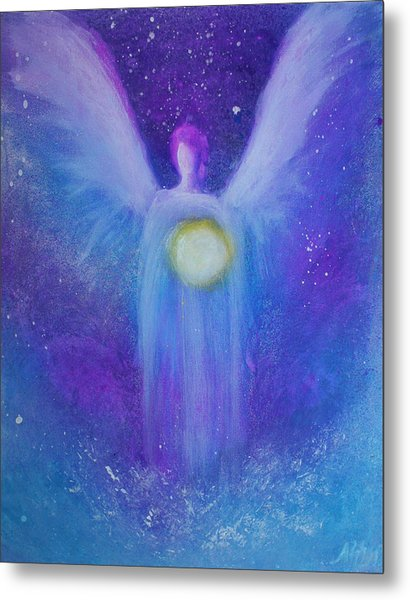 Angel Light Metal Print