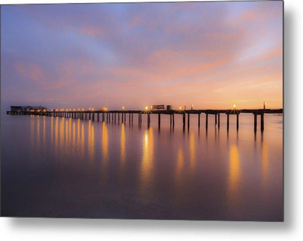 Anna Maria City Pier , Anna Maria Island Sunrise  Metal Print