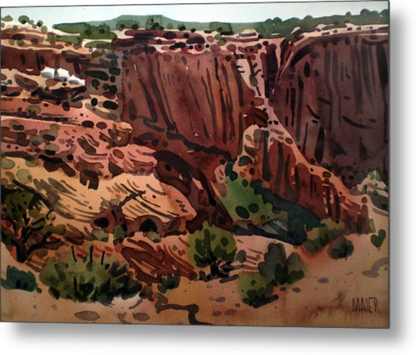 Antelope House Overlook 2003 Metal Print by Donald Maier
