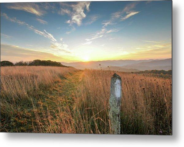 Appalachian Trail Sunrise Metal Print