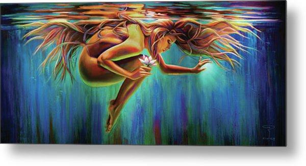 Aquarian Rebirth Metal Print