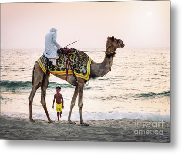 Arabian Nights Metal Print